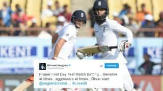 India vs England, 1st Test: Joe Root, Moeen Ali inspire England to strong position on Day 1 - Twitter reactions