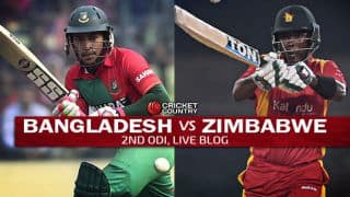 ZIM 183 in 43.2 overs | Live Cricket Score, Bangladesh vs Zimbabwe 2015, 2nd ODI at Dhaka: BAN win by 58 runs