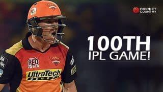 David Warner set to play 100th IPL game in Royal Challengers Bangalore vs Sunrisers Hyderabad, IPL 2016 Final
