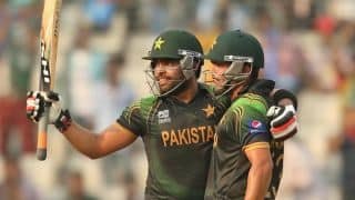 Umar Akmal's 94 powers Pakistan to 191/5 against Australia in ICC World T20 2014