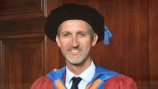 Jason Gillespie awarded honorary doctorate