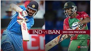 India vs Bangladesh 2015, 3rd ODI at Dhaka, Preview: Rampaging hosts look to complete another 'Banglawash'