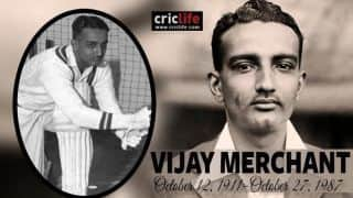 Birthday Special: The man with the second best First-Class average ever – Vijay Merchant