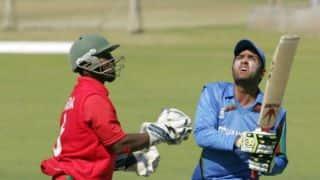 Zimbabwe vs Afghanistan, 2nd ODI at Bulawayo: Afghanistan set target of 257