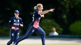 England's Katherine Brunt positive ahead of ICC Women's Cricket World Cup 2017
