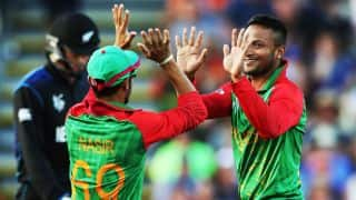 Shakib overtakes Mortaza to become 2nd-highest wicket-taker for Bangladesh