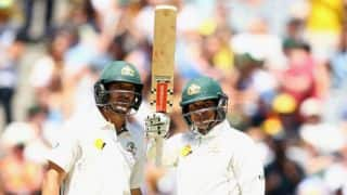 Australia reach 193-1 at Tea on Day 1 of 2nd Test vs West Indies at Melbourne