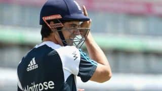 India vs England 2014, 2nd Test at Lord's: Alastair Cook bats in the nets ahead of clash