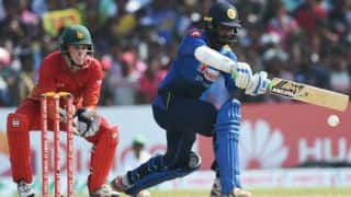 Hasaranga, Sandakan and Tharanga help Sri Lanka crush Zimbabwe by 7 wickets