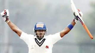 Aditya Tare's knock for Mumbai ensures draw against Baroda