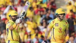 IPL 2019, KXIP vs CSK: Faf du Plessis, Suresh Raina power Chennai Super Kings to 170/5 against Kings XI Punjab