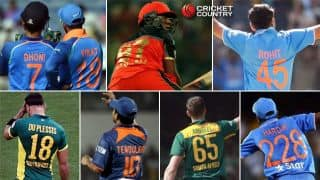 Lesser-known stories behind cricketers' jersey numbers