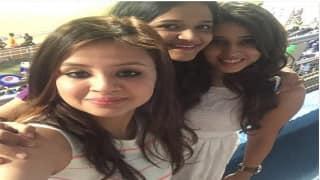 PHOTO: Wives of MS Dhoni, Rohit Sharma, Ajinkya Rahane enjoy MI vs RPS IPL 9 match