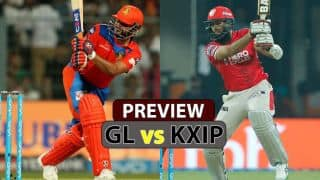 Gujarat Lions vs Kings XI Punjab, IPL 2017, Match 26, Preview and likely XI: Kings seek victory in Lions' den