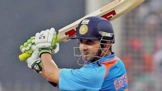 Gautam Gambhir aiming for India comeback