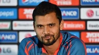 Skipper Mashrafe Mortaza not taking Zimbabwe lightly