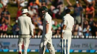 Controversy! Umpire Richard Illingworth's howler leaves New Zealand fuming; Adam Voges gets a lifeline