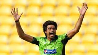 Live Cricket Score Pakistan vs United Arab Emirates (UAE) ICC Cricket World Cup 2015, Pool B Match 25 at Napier, UAE 210/8 in 50 overs: Pakistan win by 129 runs