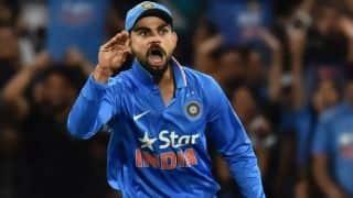 Virat Kohli's funny Steven Smith dismissal reaction represented by Amul Dairy