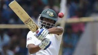 Tamim's 200 helps Bangladesh steer ahead against Pakistan at tea in 1st Test, Day 5 at Khulna