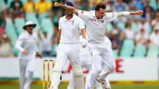 England fight back at 121 for 3 at Tea on Day 1 of 1st Test vs South Africa at Durban