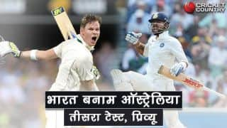 India vs Australia, 3rd Test at Ranchi: Hosts look to take lead in the series