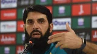 I would ask the critics to go easy on the players who fail: Misbah-ul-Haq