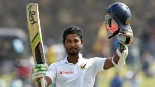 India vs Sri Lanka 2015, 1st Test: Dinesh Chandimal congratulates Sri Lankan team on a 'great win'