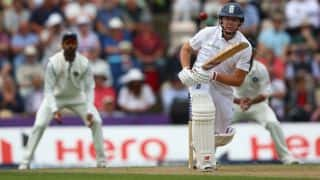 Rohit Sharma takes maiden Test wicket; dismisses Gary Ballance in third Test between India and England at Southampton