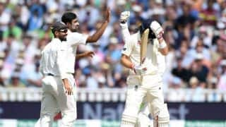 India vs England, 1st Test, Day 3: Ashwin, Ishant cut England down to size