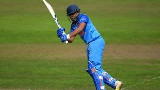 Prithvi Shaw registers half century for India A against England Cricket Board XI