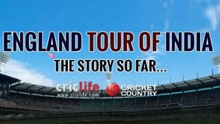 England tour of India: All you need to know