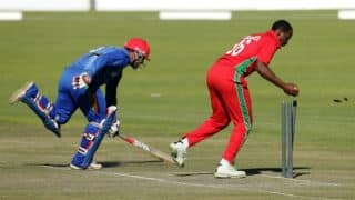 Live cricket score: Afghanistan vs Zimbabwe 4th ODI