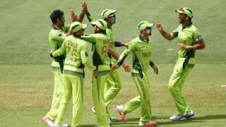 Live Cricket Score Pakistan vs Ireland ICC Cricket World Cup 2015: Pakistan, West Indies qualify for quarter-finals, Ireland are knocked out
