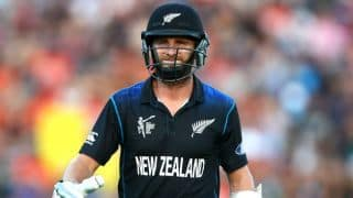 Kane Williamson dismissed for 6 by Morne Morkel against South Africa in ICC Cricket World Cup 2015 semi-final