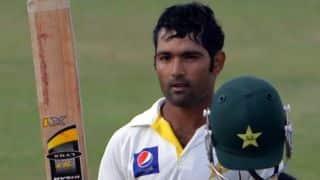 Asad Shafiq scores 7th Test ton in 1st Test against Sri Lanka at Galle