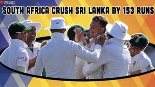 South Africa trounce Sri Lanka by 153 runs in 1st Test at Galle, take 1-0 lead