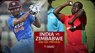 India vs Zimbabwe 2015, 2nd ODI at Harare Preview: Hosts look to bounce back after heartbreaking loss