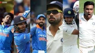 ICC Awards 2017: Virat Kohli captain of both ODI, Test teams; Rohit Sharma, Jasprit Bumrah, Cheteshwar Pujara, Ravichandran Ashwin included