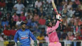 Heinrich Klaasen's 43* keeps South Africa alive in series against India; hosts remain unbeaten in Pink ODIs