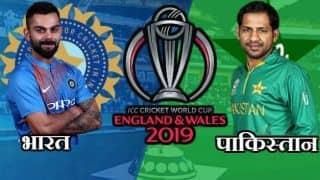 टॉस जीतकर पहले गेंदबाजी करेगी पाकिस्तान, विजय शंकर को मिला मौका