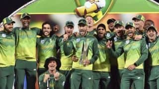 3rd ODI: Miller, Du Plessis centuries fire South Africa to 2-1 series win