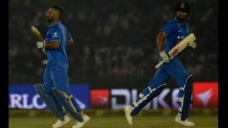 Kohli's 26th ODI ton, Dhoni's brilliance helps India gain 2-1 lead against New Zealand