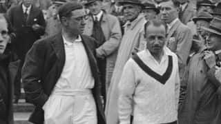 Ashes 1946-47: Don Bradman refuses to walk at Brisbane