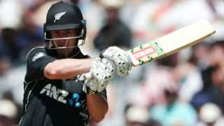 Neil Broom, Martin Guptill push New Zealand to 286/9 vs Australia in 1st ODI at Auckland