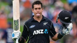 Underrated Ross Taylor stitches New Zealand's middle-order woes