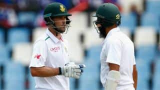 Stephen Cook, Hashim Amla slay England bowlers as South Africa reach 224/1 at tea on Day 1 of 4th Test