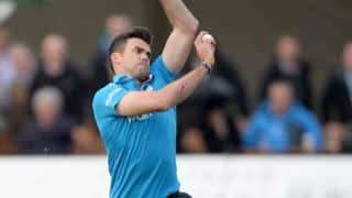 James Anderson becomes first England bowler to take 250 ODI wickets