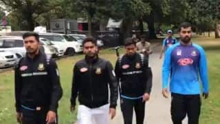 Christchurch mosque shooting: Bangladesh cricketers 'want to leave' as soon as possible