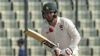 Bangladesh vs Zimbabwe: Brendan Taylor firm at lunch after visitors lose two